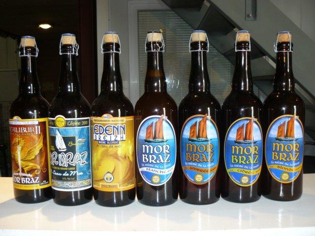 Французское пиво на морской воде