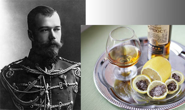 Русские пьют коньяк по-царски